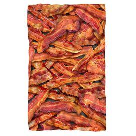 Bacon Collage Fleece Blanket