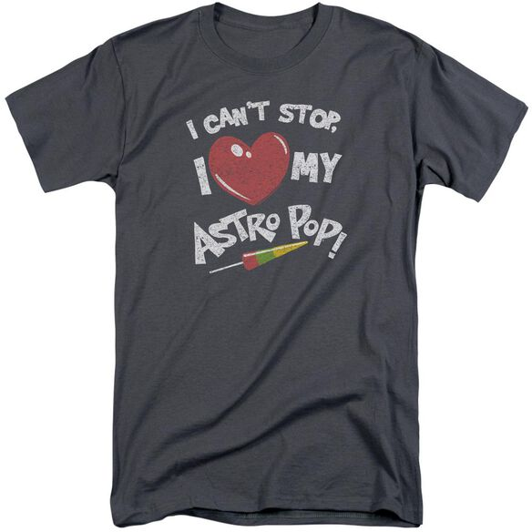 Astro Pop I Heart Short Sleeve Adult Tall T-Shirt