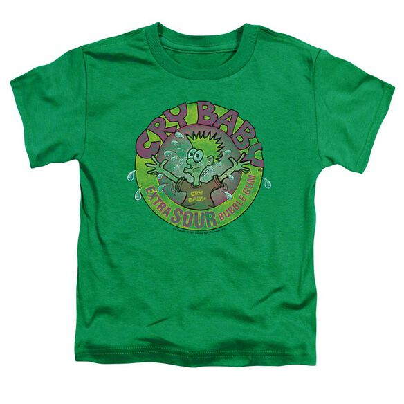 Dubble Bubble Logo Short Sleeve Toddler Tee Kelly Green Sm T-Shirt