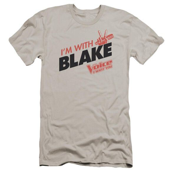 Voice With Blake Premuim Canvas Adult Slim Fit