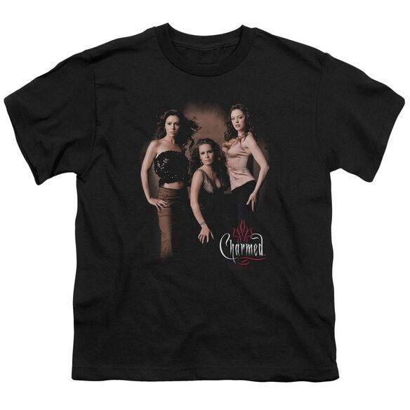 Charmed Three Hot Witches Short Sleeve Youth T-Shirt
