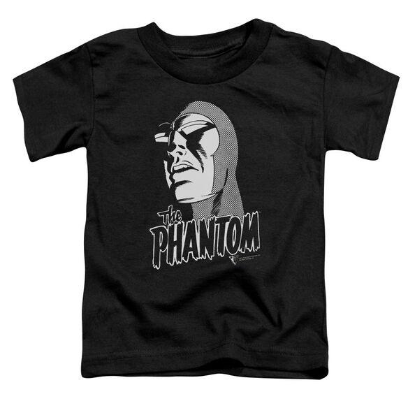 Phantom Inked Short Sleeve Toddler Tee Black T-Shirt