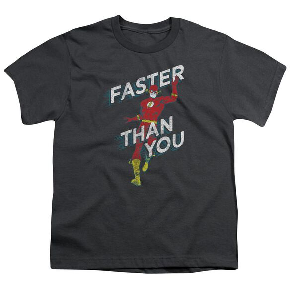 Dc Faster Than You Short Sleeve Youth T-Shirt