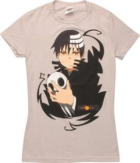 Soul Eater Death The Kid Stare Juniors T-Shirt