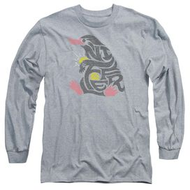 Fantastic Beasts Niffler Long Sleeve Adult Athletic T-Shirt