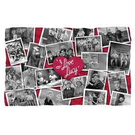 I Love Lucy Time After Time Fleece Blanket