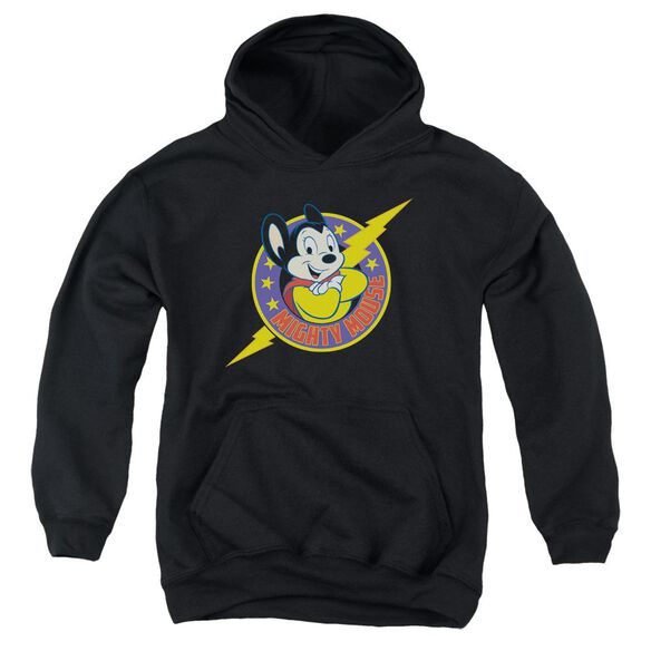 Mighty Mouse Mighty Hero Youth Pull Over Hoodie
