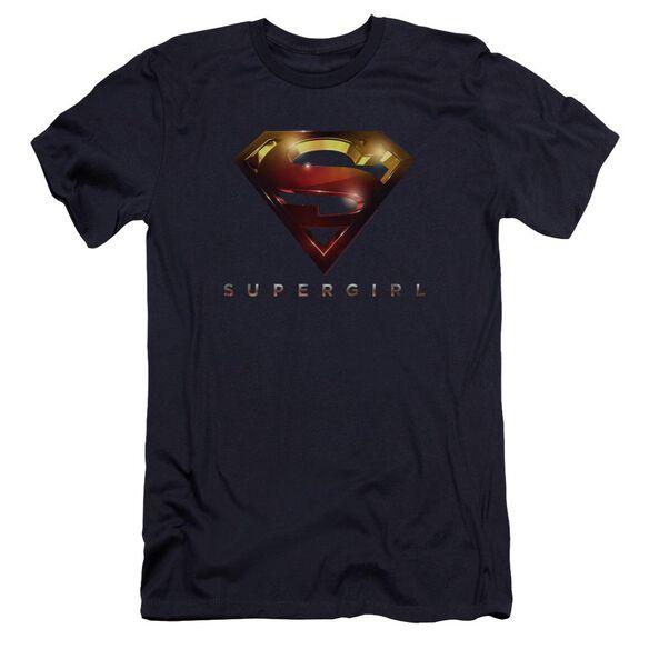 Supergirl Logo Glare Premuim Canvas Adult Slim Fit