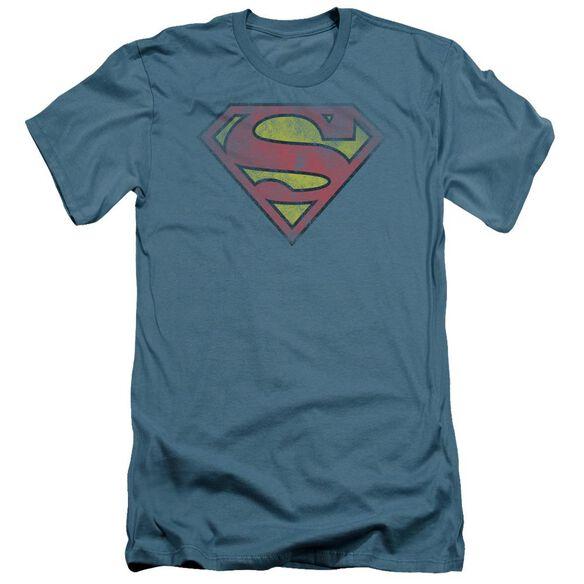 Superman Inside Shield Short Sleeve Adult T-Shirt
