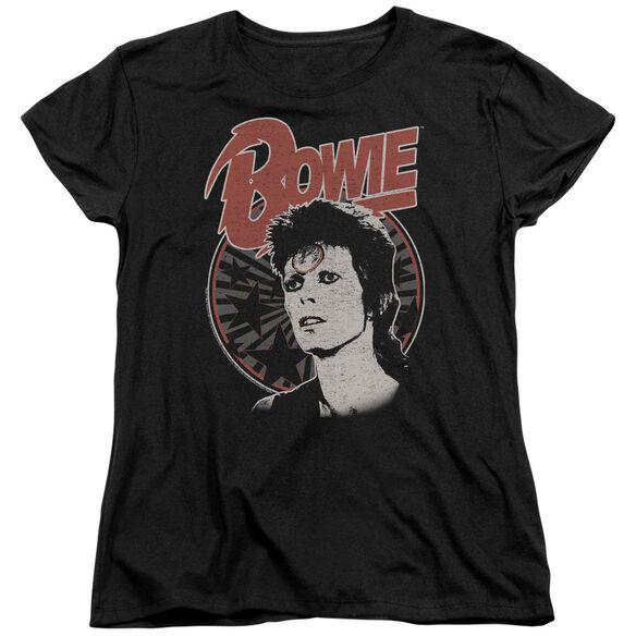 David Bowie Space Oddity Short Sleeve Womens Tee T-Shirt