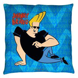Johnny Bravo Logo Repeat Throw