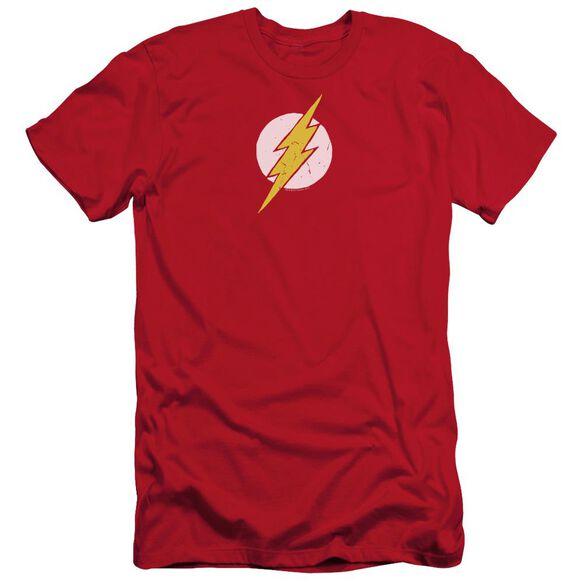 Jla Rough Flash Short Sleeve Adult T-Shirt