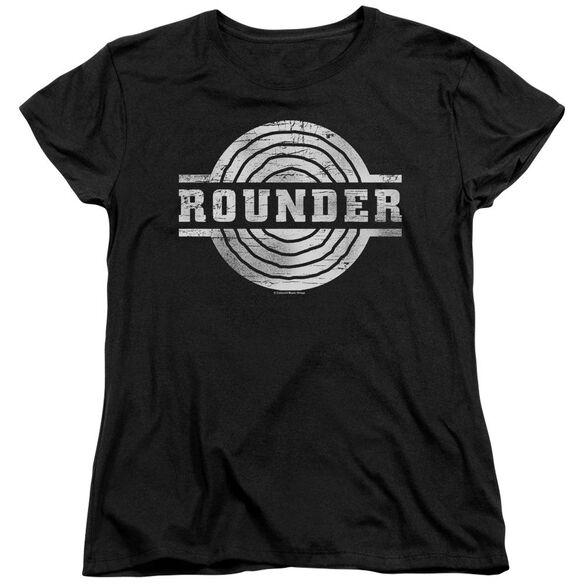 Rounder Rounder Retro Short Sleeve Womens Tee T-Shirt