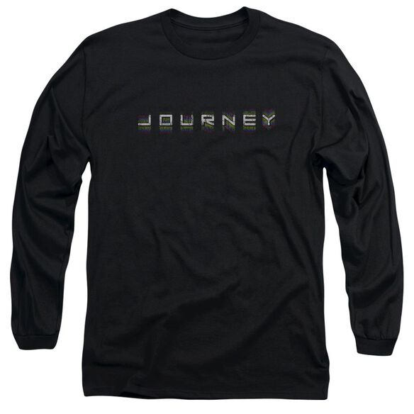 Journey Repeat Logo Long Sleeve Adult T-Shirt