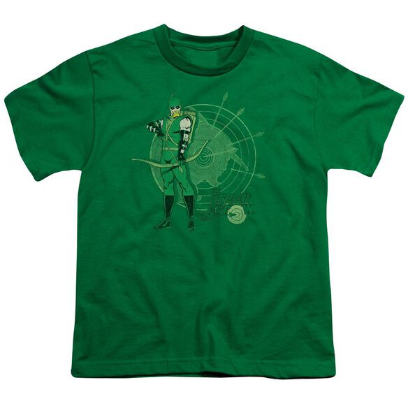 Dc Arrow Target Short Sleeve Youth Kelly T-Shirt