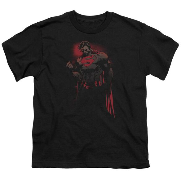 SUPERMAN RED SON - S/S YOUTH 18/1 - BLACK T-Shirt