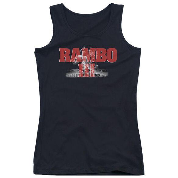 Rambo Iii John Rambo Juniors Tank Top