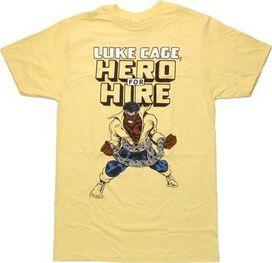 Luke Cage Hero For Hire T-Shirt Sheer