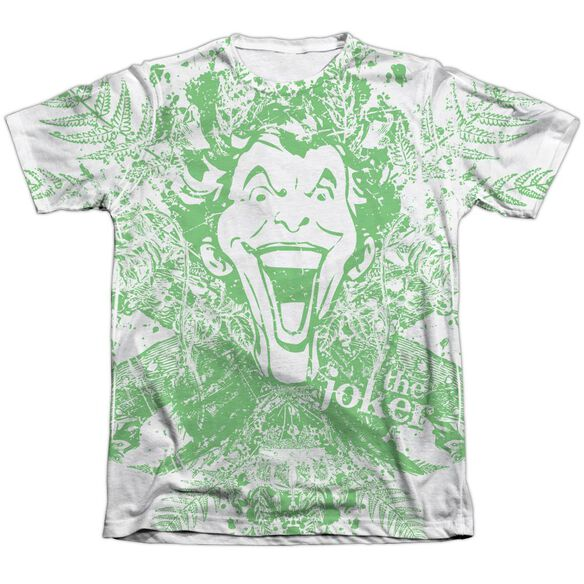 Batman Joker In The Wild Adult 65 35 Poly Cotton Short Sleeve Tee T-Shirt