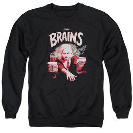 Izombie Brains And Beauty Adult Crewneck Sweatshirt