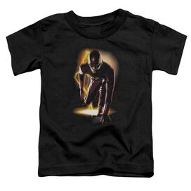 The Flash Ready Short Sleeve Toddler Tee Black T-Shirt