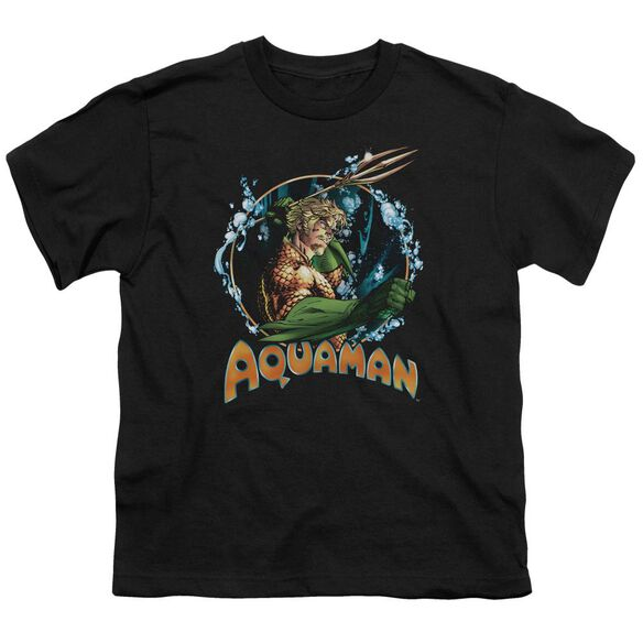Jla Ruler Of The Seas Short Sleeve Youth T-Shirt