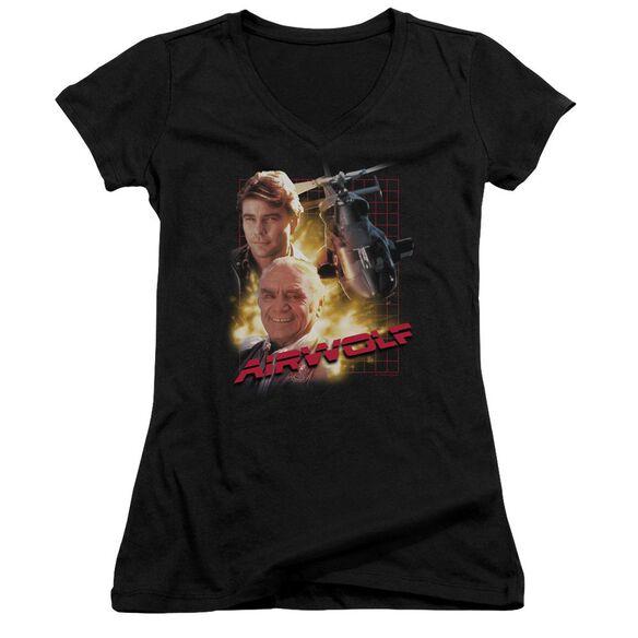Airwolf Airwolf Junior V Neck T-Shirt