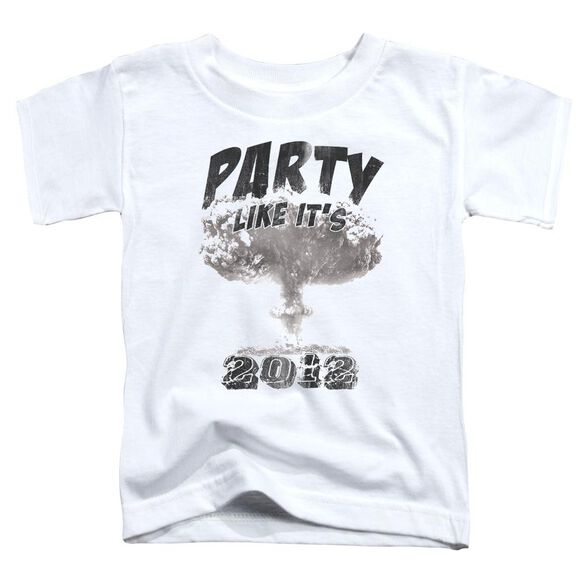 Party Like It's 2012 Short Sleeve Toddler Tee White Lg T-Shirt