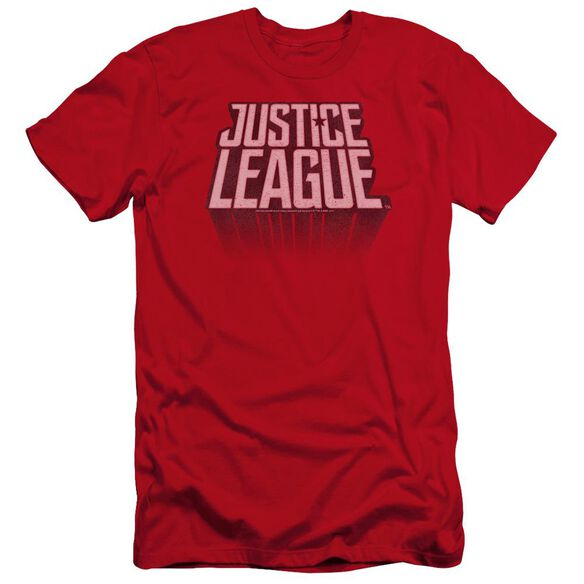 Justice League Movie League Distressed Hbo Short Sleeve Adult T-Shirt