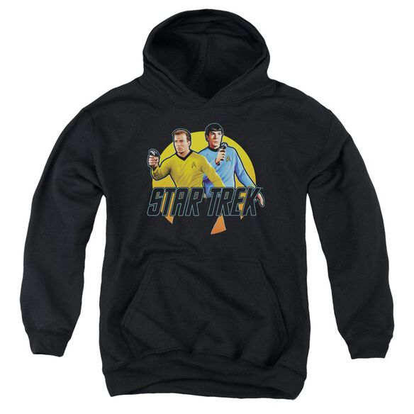 Star Trek Phasers Ready Youth Pull Over Hoodie