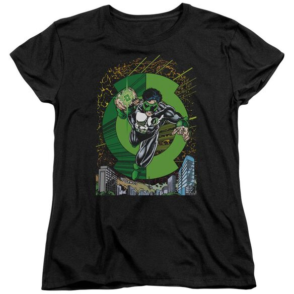 Green Lantern Gl #51 Cover Short Sleeve Womens Tee T-Shirt