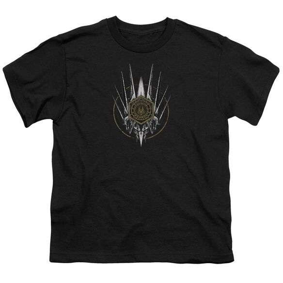 Bsg Crest Of Ships Short Sleeve Youth T-Shirt