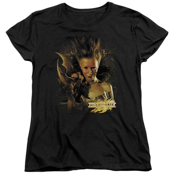 Mirrormask Queen Of Shadows Short Sleeve Women's Tee T-Shirt