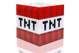 Minecraft TNT Block 6 Inch USB LED Cool Night Light Cube