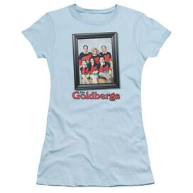 Goldbergs Framed Short Sleeve Junior Sheer Light T-Shirt