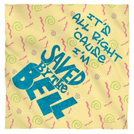 Saved By The Bell All Right Bandana