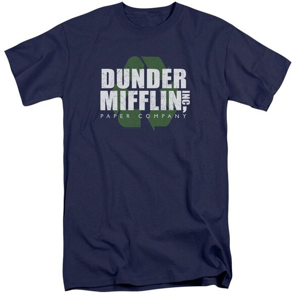 The Office Recycle Mifflin Short Sleeve Adult Tall T-Shirt