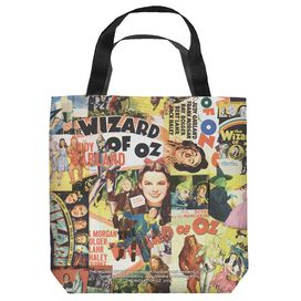 Wizard Of Oz Collage Tote