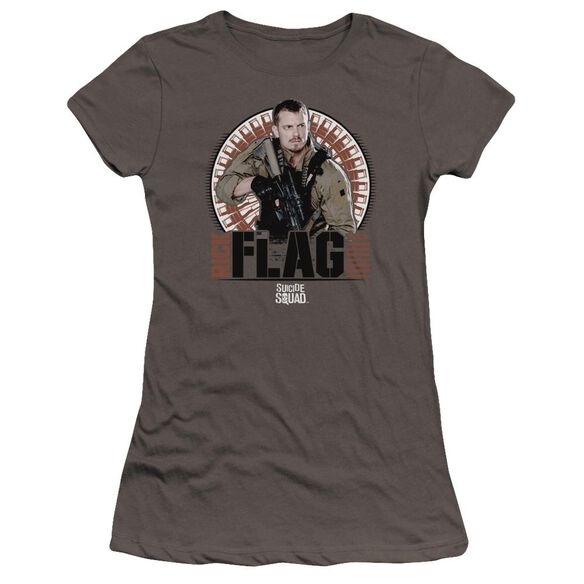 Suicide Squad Rick Flagg Bullets Premium Bella Junior Sheer Jersey
