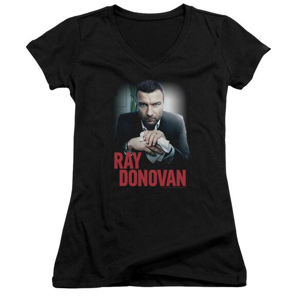 Ray Donovan Clean Hands Junior V Neck T-Shirt