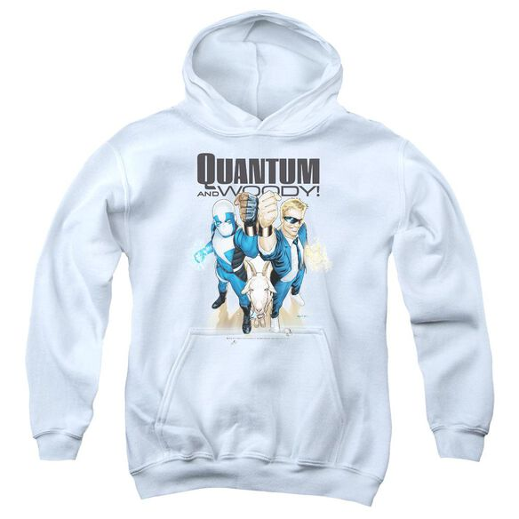 Quantum And Woody Quantum And Woody Youth Pull Over Hoodie