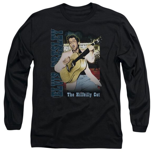 Elvis Presley Memphis Long Sleeve Adult T-Shirt