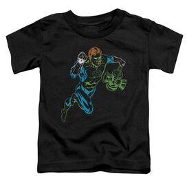 GL NEON LANTERN - S/S TODDLER TEE - BLACK - T-Shirt