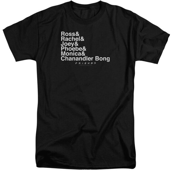 Friends Chanandler Bong Short Sleeve Adult Tall T-Shirt