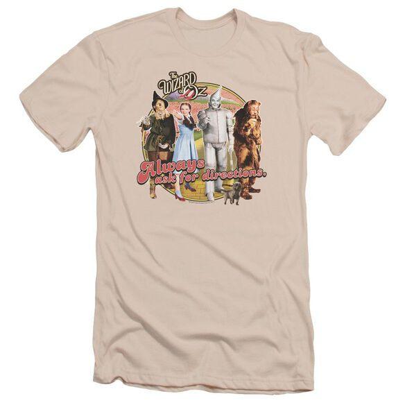 Wizard Of Oz Directions Short Sleeve Adult T-Shirt