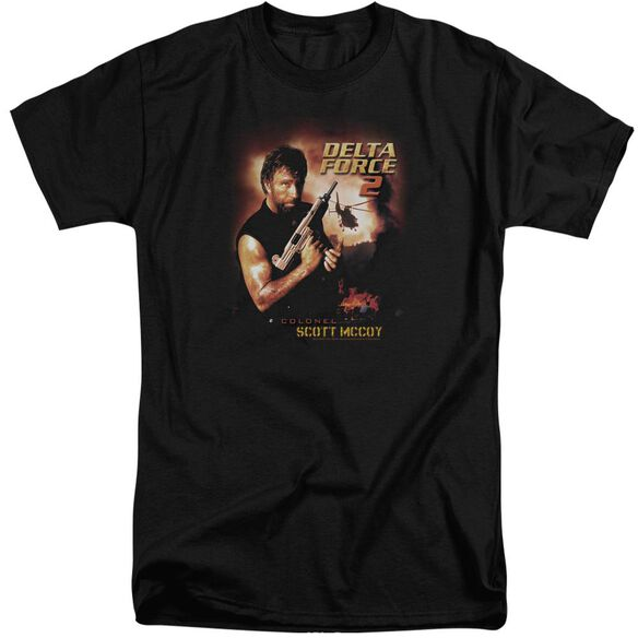 Delta Force Delta Force 2 Poster Short Sleeve Adult Tall T-Shirt