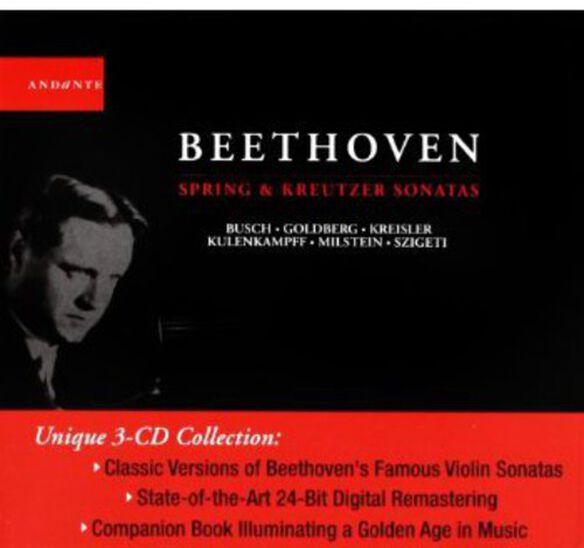 Ludwig Van Beethoven - Spring & Kreutzer Sonatas
