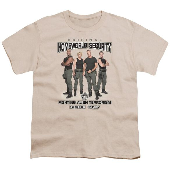 Sg1 Homeworld Security Short Sleeve Youth T-Shirt