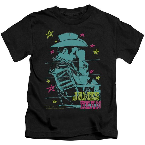 Dean Barb Wire Cowboy Short Sleeve Juvenile Black Md T-Shirt