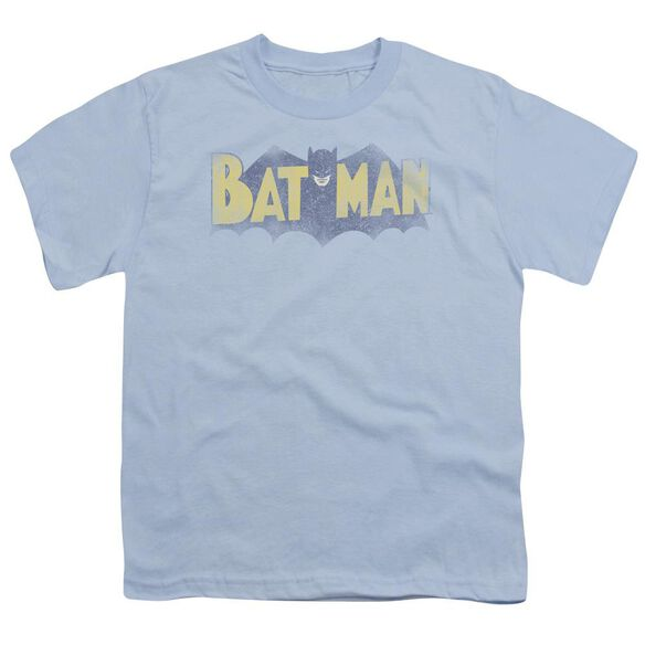 Batman Vintage Logo Short Sleeve Youth Light T-Shirt